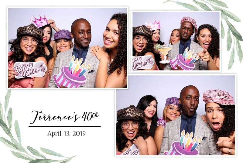 GLAM Filter photo booth rentals