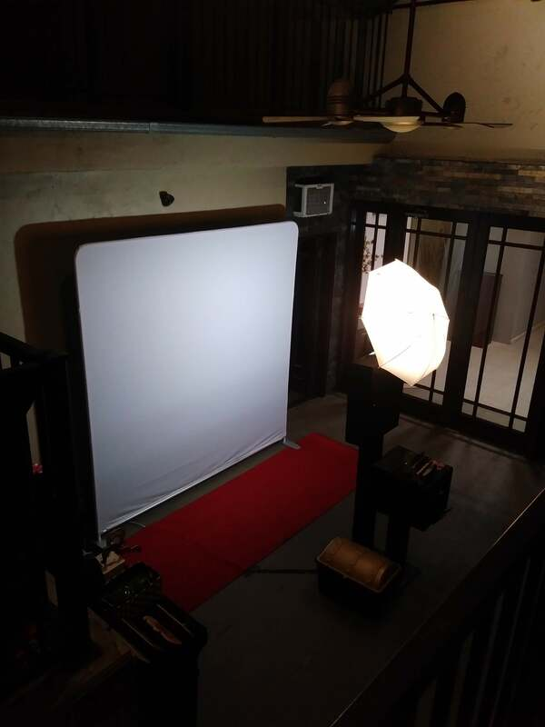 GLAM Filter photo booth rentals oc